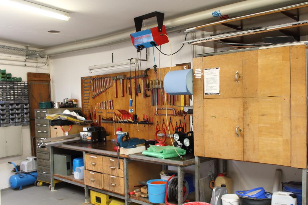 Werkstatt Gerätewart
